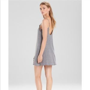 5297a27712 Natori Intimates   Sleepwear - josie natori lingerie sleepwear chemise grey  small